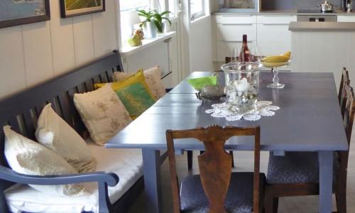 Oppussing av 70-talls hus, kjøkkenet etter oppusising